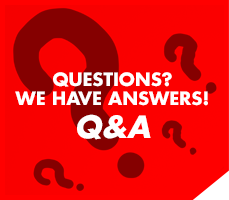 Questions? We have answers! Q&A.